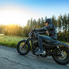 man riding motorcycle will consult with toledo motorcycle accident attorneys in the event of an accident