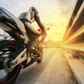 motorcycle rider going to consult with toledo motorcycle accident lawyers after injury