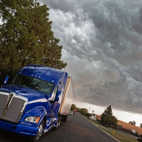 semi truck driving to consult with toledo truck accident attorneys to discuss lawsuit