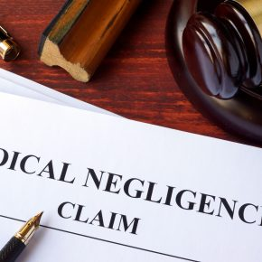 Medical negligence claim paperwork for when needing to file lawsuit with Medical Malpractice Attorney in Ohio.