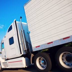 A semi truck on a highway, when involved in highway accident meet with Ohio Large Truck Accident Lawyer
